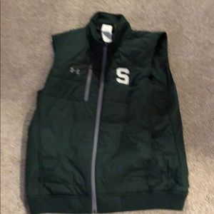 Under Armour Jackets & Coats - Under Armour Michigan State Large Vest
